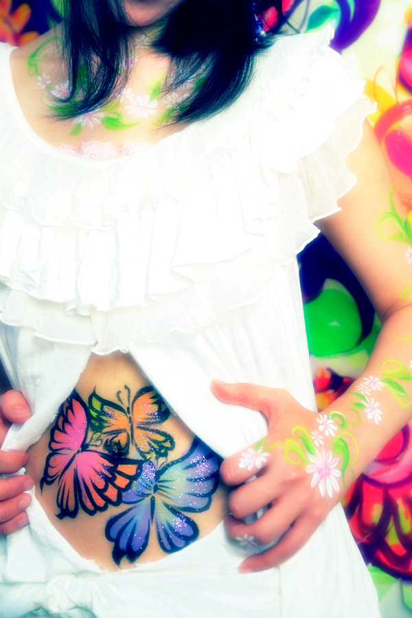 body painting - Tome Tomoka